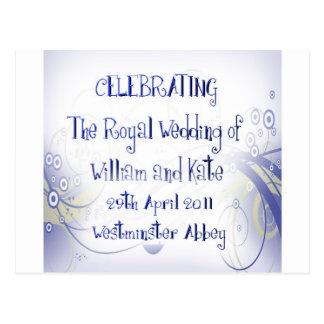 William & Kate Royal Wedding Collectibles Souvenir Postcards