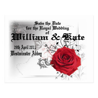 William & Kate Royal Wedding Collectibles Souvenir Post Card