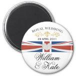 William & Kate - Royal Wedding Commemorative Gift Magnets