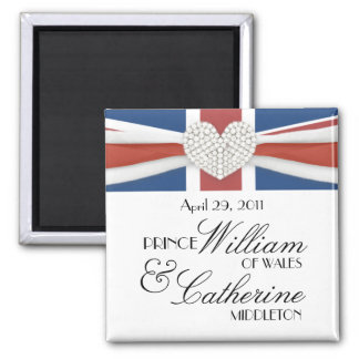 William & Kate - Royal Wedding Commemorative Gift Magnet