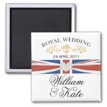 William & Kate Royal Wedding Commemorative Gift Magnets