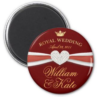 William & Kate - Royal Wedding Commemorative Gift Fridge Magnets