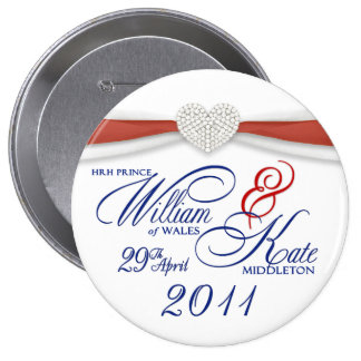 William Kate - Royal Wedding Commemorative Pin