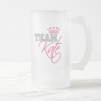 William & Kate Royal Wedding Frosted Glass Beer Mug
