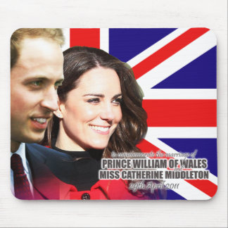 William & Kate Royal Wedding Mousepad