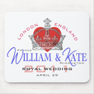 William & Kate Royal Wedding Mouse Pad