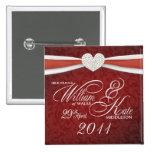 William & Kate - Royal Wedding Souvenir Pin
