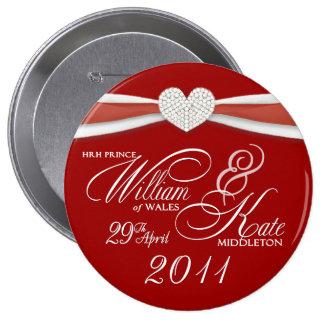 William Kate - Royal Wedding Souvenir Pin