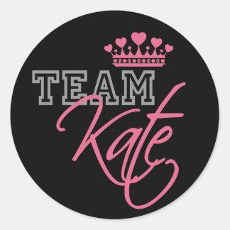 William & Kate Royal Wedding Classic Round Sticker