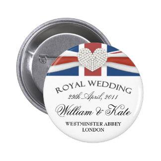 William Kate Wedding Commemorative Keepsake Pin