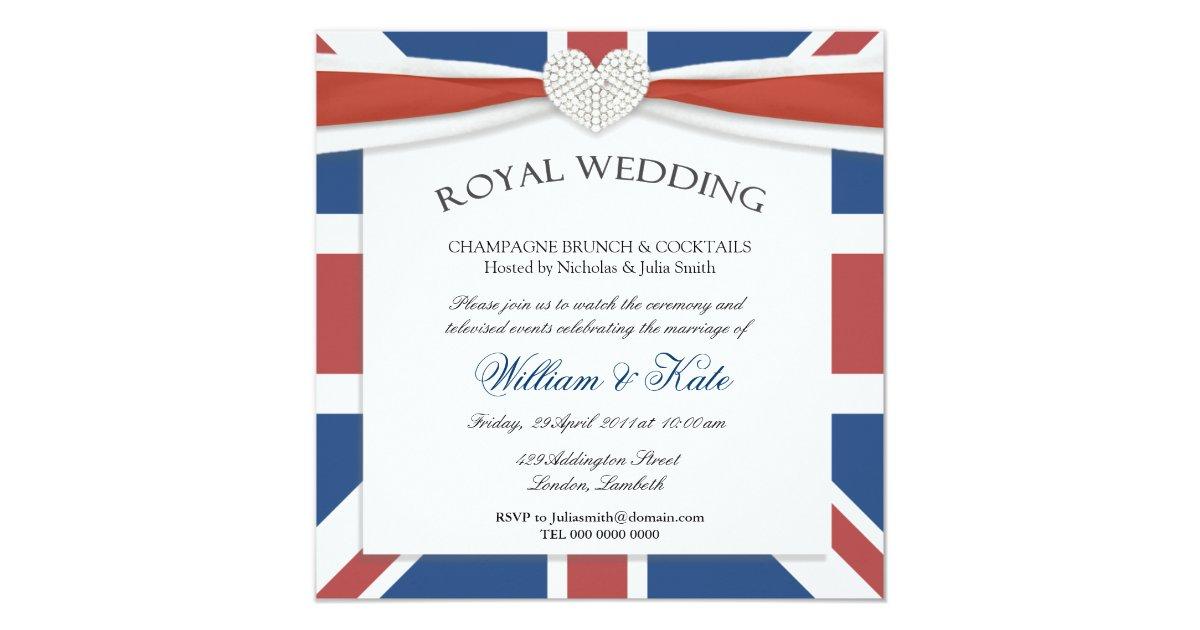 William & Kate Wedding Watch Party Invitations | Zazzle.com