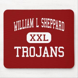 William L Sheppard - Trojans - Middle - San Jose Mouse Mats