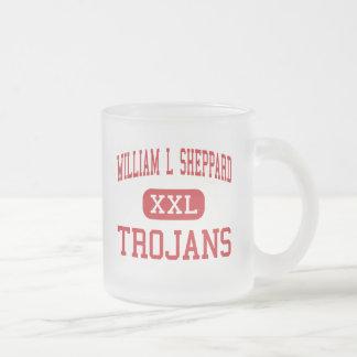 William L Sheppard - Trojans - Middle - San Jose Coffee Mug