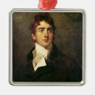 William Lamb, 2nd Viscount Melbourne Metal Ornament