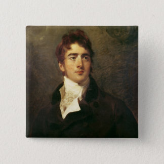 William Lamb, 2nd Viscount Melbourne Pinback Button