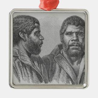 William Lanney, the last Tasmanian Christmas Ornaments