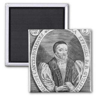 William Laud, 1646 2 Inch Square Magnet