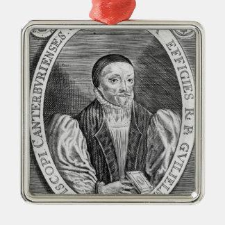 William Laud, 1646 Metal Ornament