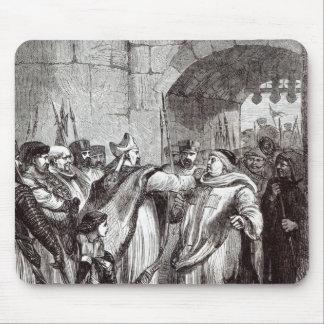 William Longchamp  and Hugh de Pudsey Mouse Pad