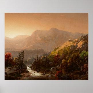 William Louis Sonntag - Autumn Landscape Poster