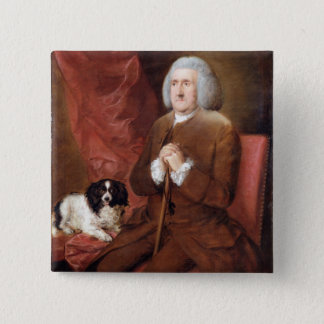 William Lowndes (1652-1724), Auditor of His Majest Pinback Button