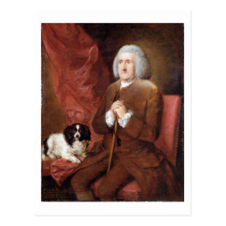 William Lowndes (1652-1724), Auditor of His Majest Postcard