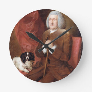 William Lowndes (1652-1724), Auditor of His Majest Round Clock