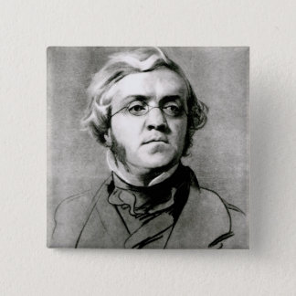 William Makepeace Thackeray Button