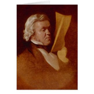 William Makepeace Thackeray, c.1864 Card