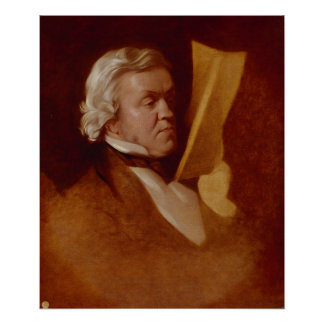 William Makepeace Thackeray, c.1864 Poster