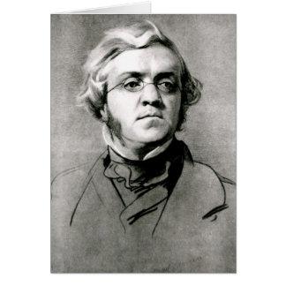 William Makepeace Thackeray Card