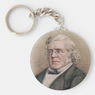 William Makepeace Thackeray Key Chain