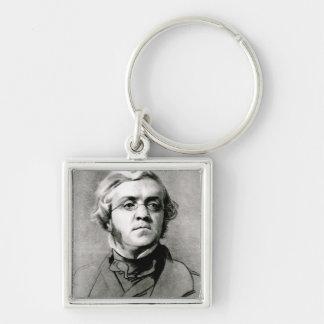 William Makepeace Thackeray Keychain