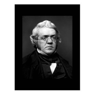 William Makepeace Thackeray Postcard