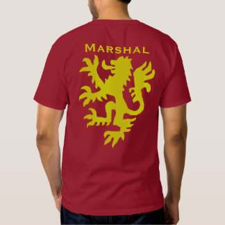William Marshal Gold Lion Shirt
