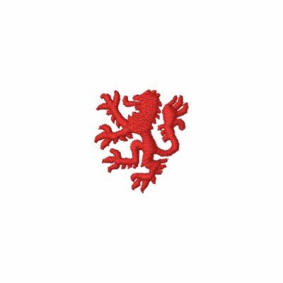 William Marshal Lion Embroidered Track Jacket