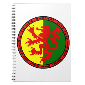 William Marshal Product Spiral Notebook