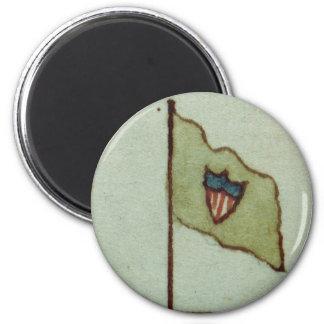 William Maxwells Brigade Flag 2 Inch Round Magnet
