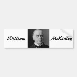 William McKinley 25 Pegatina Para Auto