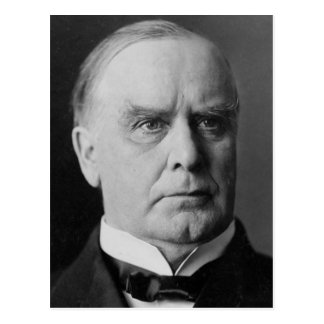 William Mckinley 25 Postcard