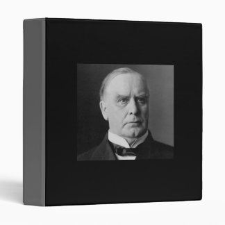William Mckinley 25th President 3 Ring Binder