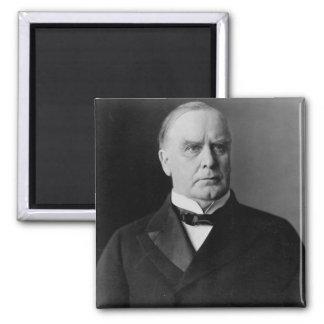 William McKinley 2 Inch Square Magnet