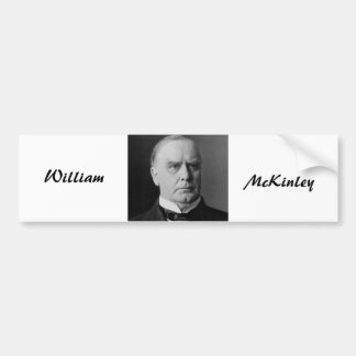 William Mckinley Bumper Sticker