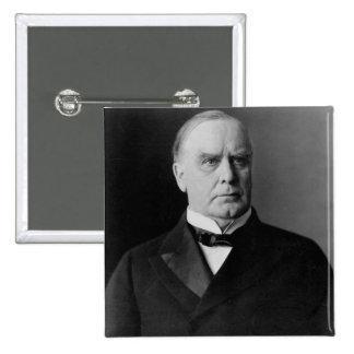William McKinley Pin Cuadrado
