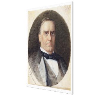 WILLIAM McKINLEY Portrait by Emily Drayton Taylor Canvas Print