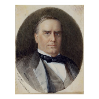 WILLIAM McKINLEY Portrait by Emily Drayton Taylor Poster