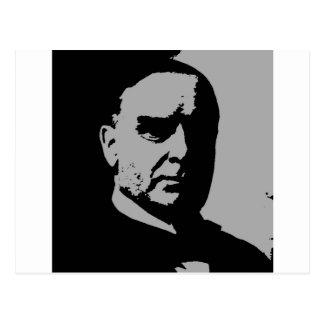 William McKinley silhouette Postcard