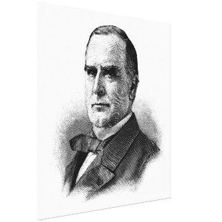 WILLIAM McKINLEY Sketch Beginners American History Canvas Print