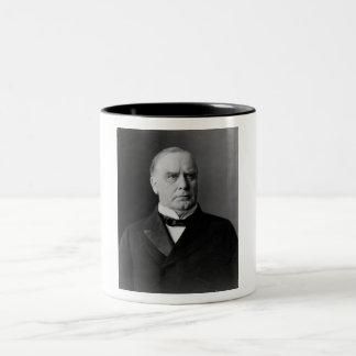 William McKinley Taza De Café De Dos Colores