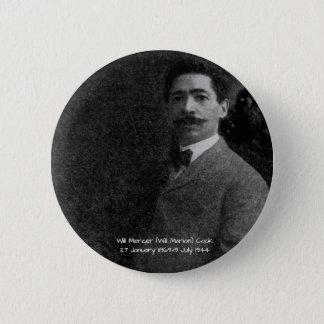 William Mercer (Will Marion) Cook Button